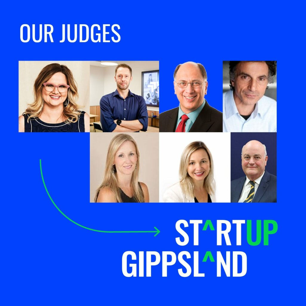 Startup Gippsland_Pitch Showcase judges