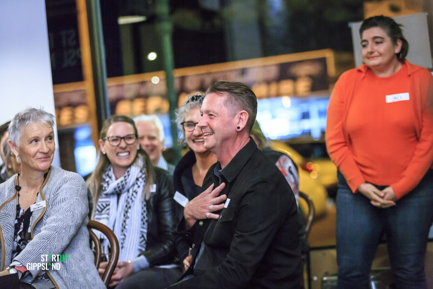 Chris Petrie UpBeat Creative Arts Therapy Startup Gippsland success story