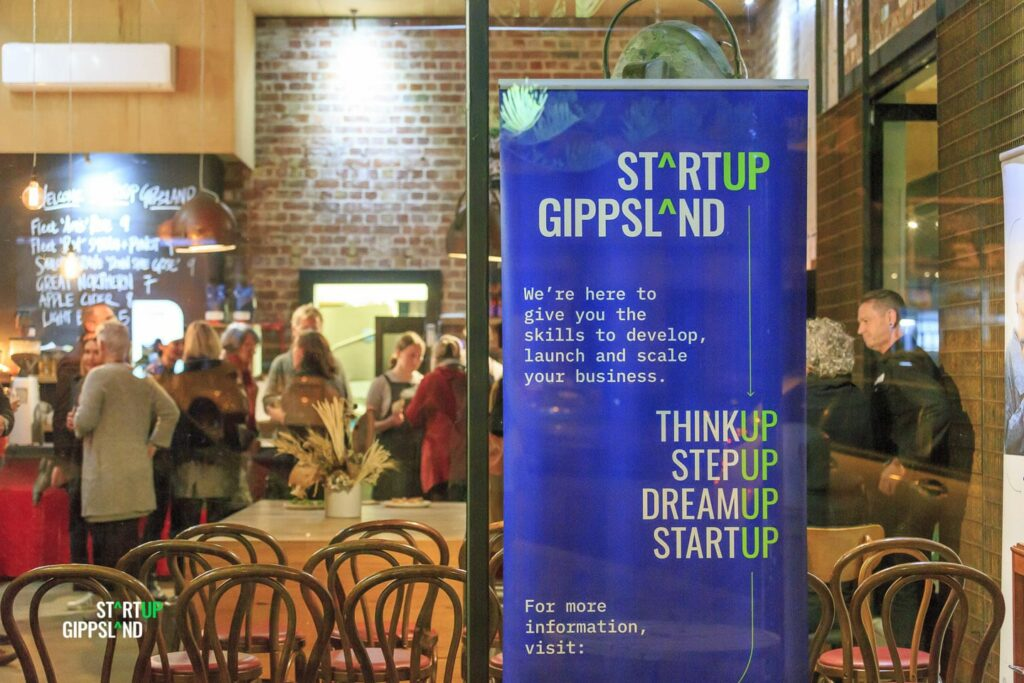 Startup Gippsland regional startup program Meetup at Coffee Colective Wonthaggi