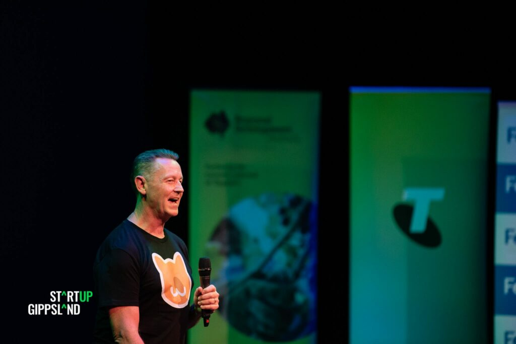 Chris Petrie Upbeat CAT Startup Gippsland Photo Gallery Showcase Chris Petrie Upbeat Creative Arts Therapy