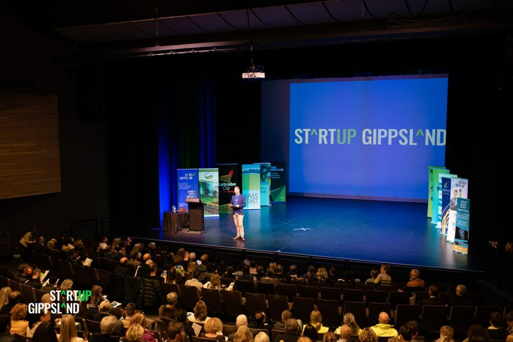 Startup Gippsland Pitch Showcase event