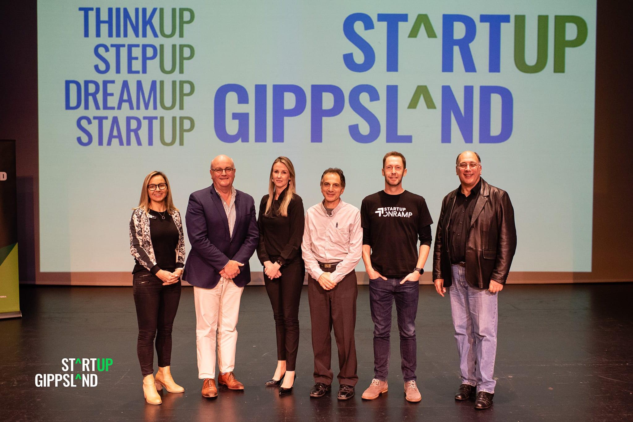 Startup Gippsland Showcase judges