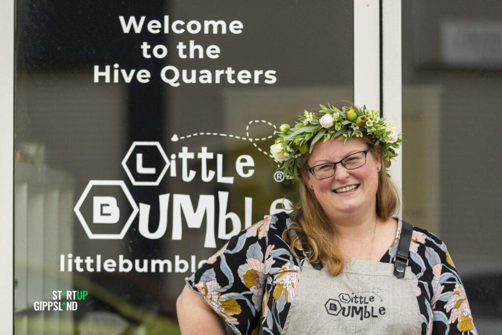 Startup Gippsland Laura Eddington Little Bumble Reusable Food Wraps Photography Aldona Kmiec