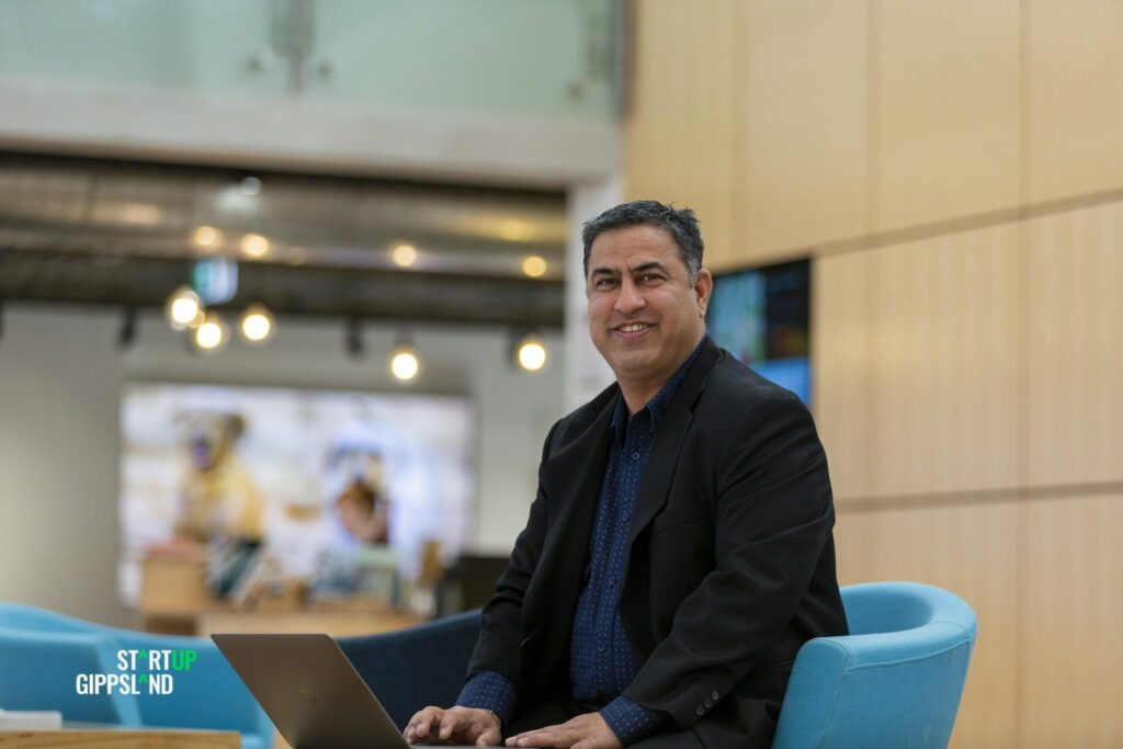 Rajender Singh ESMWiz Startup Gippsland case study