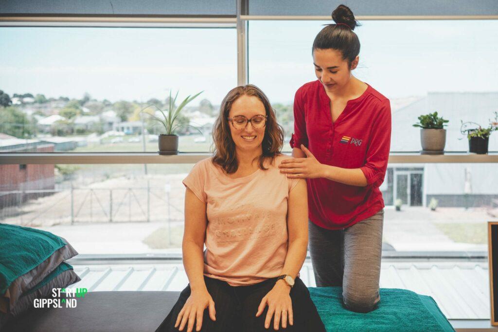 Startup Gippsland Sarah Wong Physiotherapist