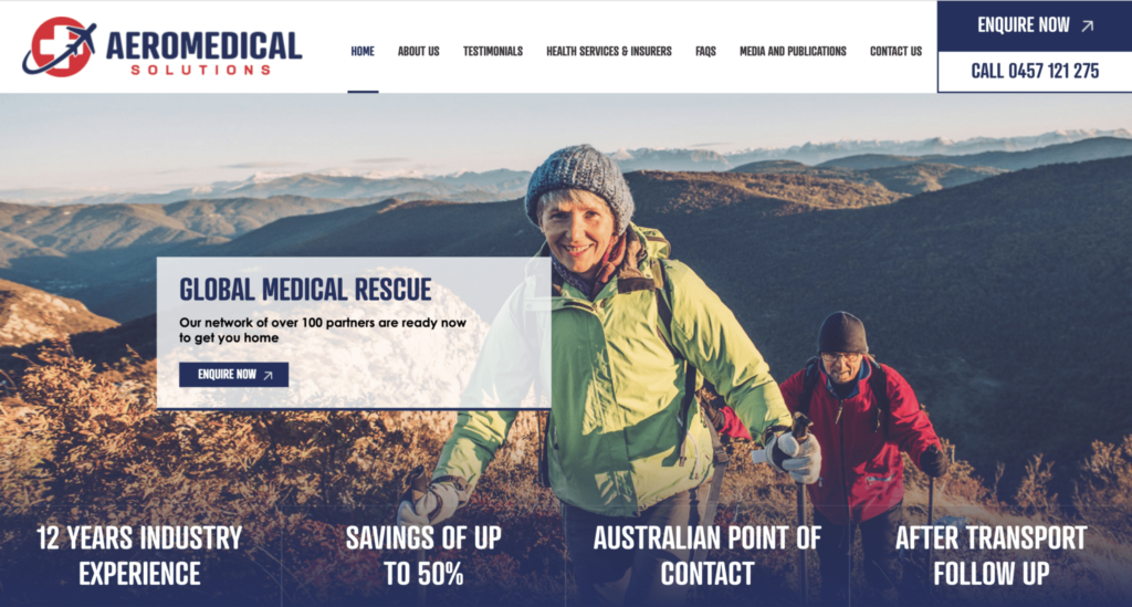 Aeromedical Solutions global startup case study