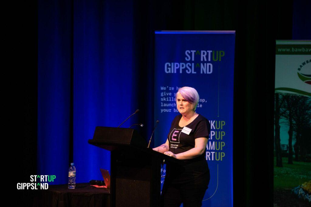 Education Elevators startup founder Bronwyn Joyce Startup Gippsland case study