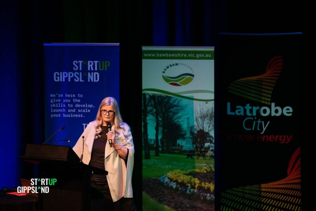 Jan Clarke Bronte Centre Foundation Startup Gippsland case study success story from Warragul
