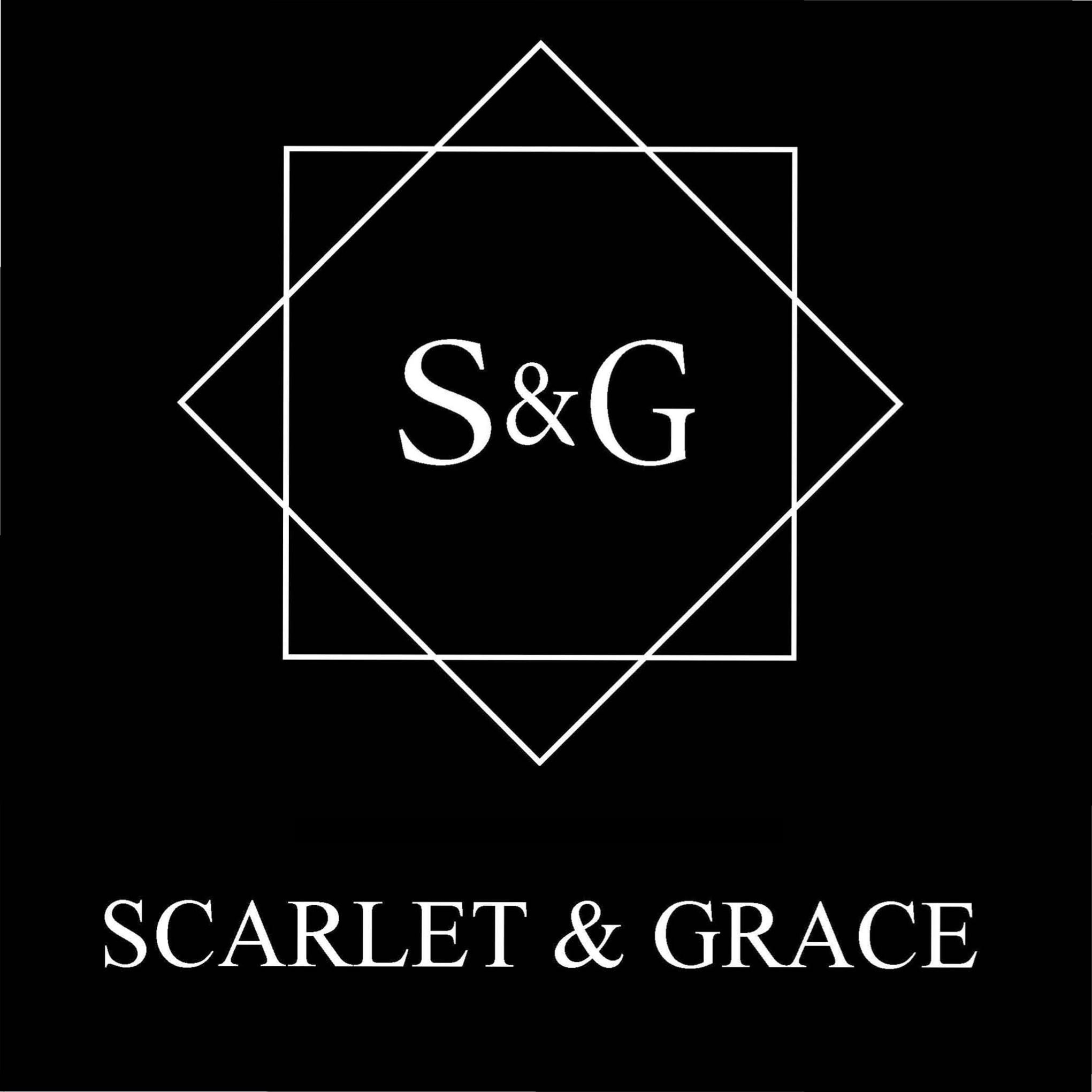 Hand sanitiser Scarlet and Grace scented candle