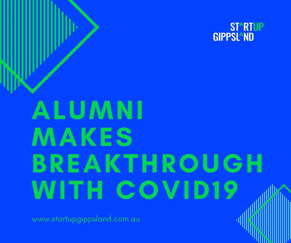 Startup gippsland alumni emily scholes makes breakthrough with covid19