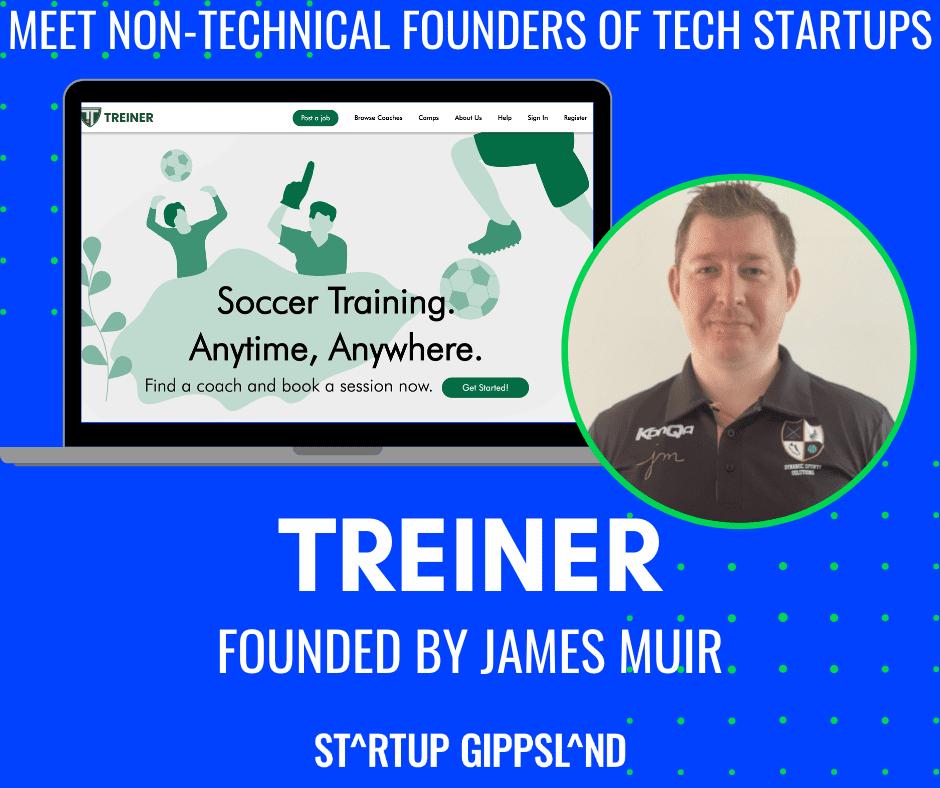 James Muir, non-technical founder