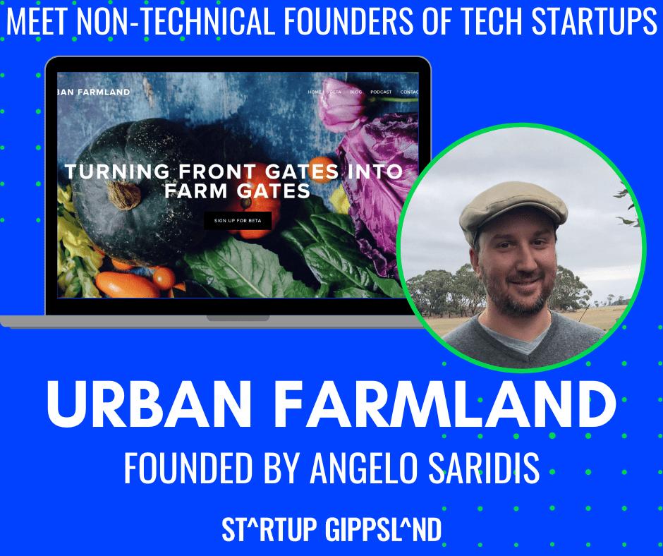 Non-technical founder, Angelo Saridis