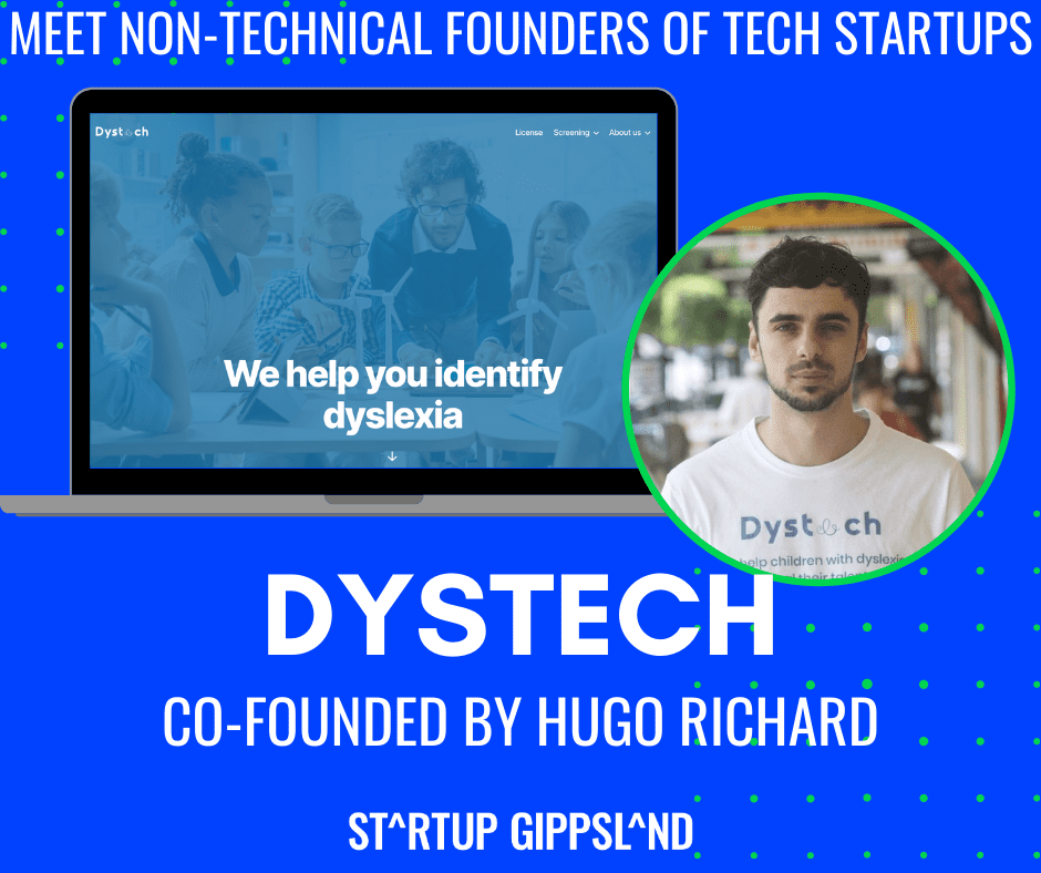 Non tech founder, Hugo Richard